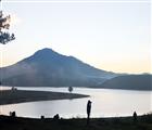 Ban mai hồ Đan kia - Suối Vàng